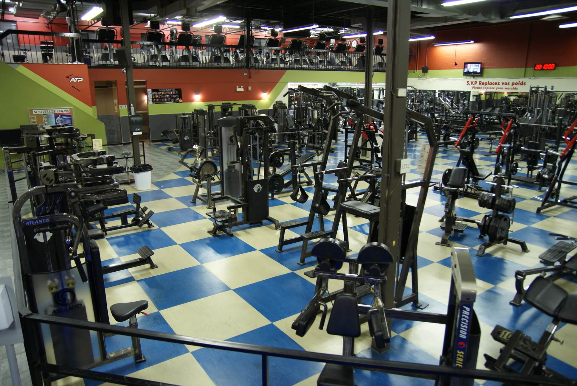 fitness centre lasalle
